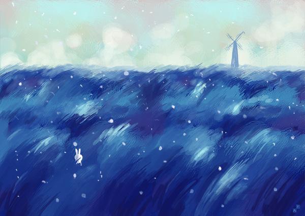 Blue by Aaron-Randy
