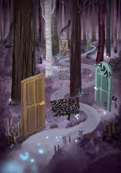 Dark-Forest by Aaron-Randy