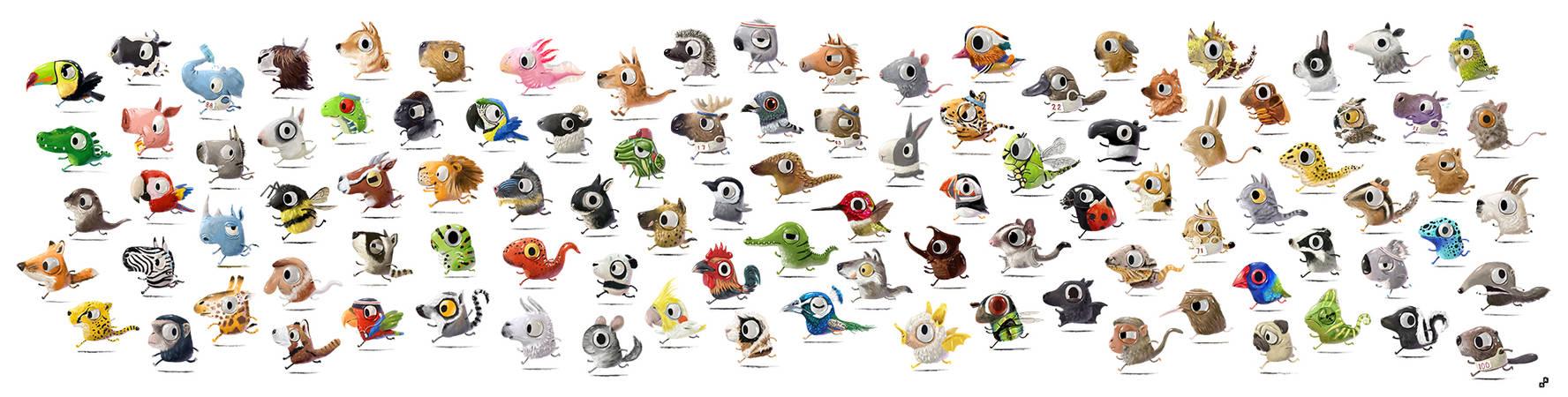 Marathon Animals