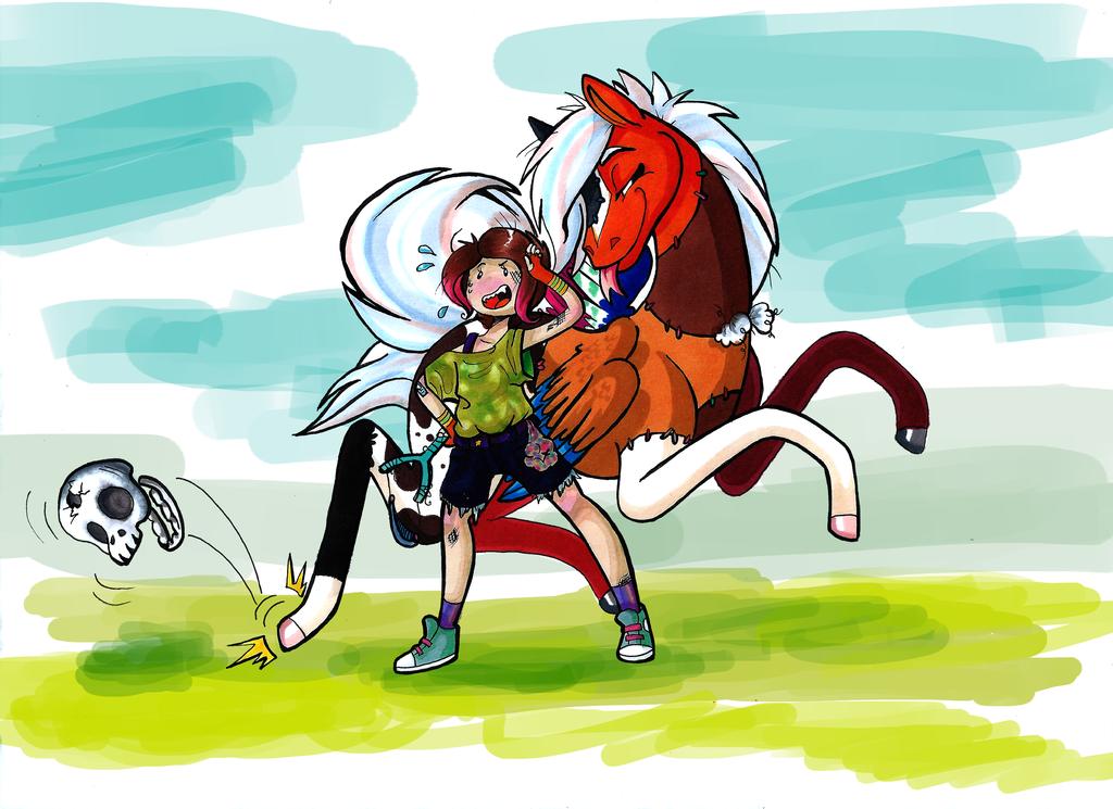 Skeleton War, FT Frankie and Manderz! by Kayla-san