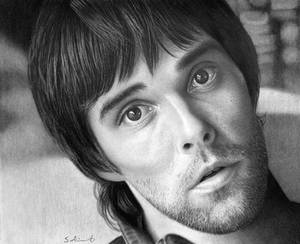 Ian Brown (Pencil on paper)