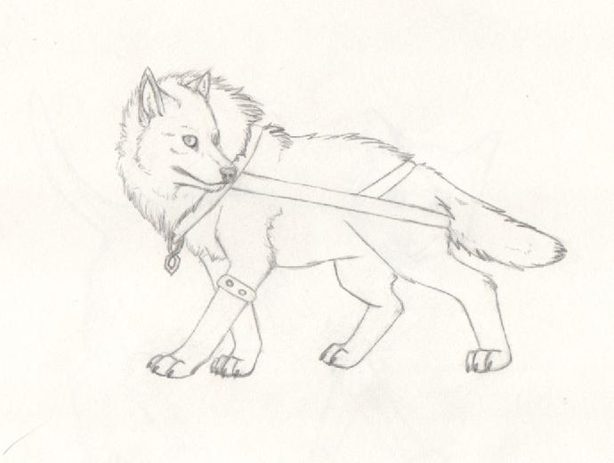 Dire Wolf by nitalla