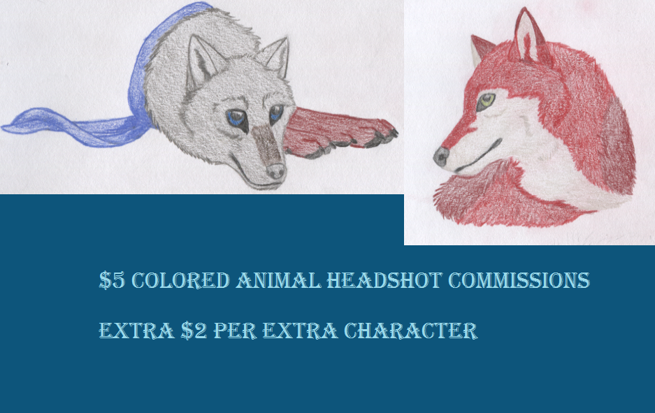 Headshot commissions by nitalla