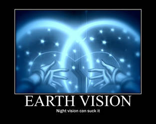 EarthVision MotavationalPoster by ping600
