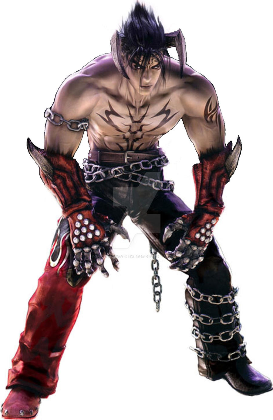 Devil Jin Edit From Tekken 5 Render By Luciangraveheart24 On