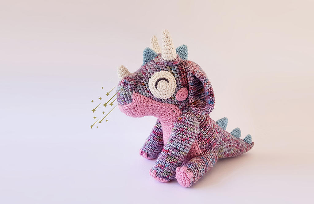 Orbit The Dragon Free Crochet Pattern By Projectarian On Deviantart
