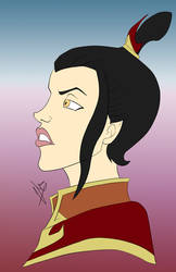 Azula from Avatar The Last Airbender (WIP)