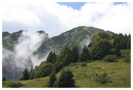 Mountain over Brescia
