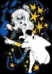 Hyena Witch by skybearuk