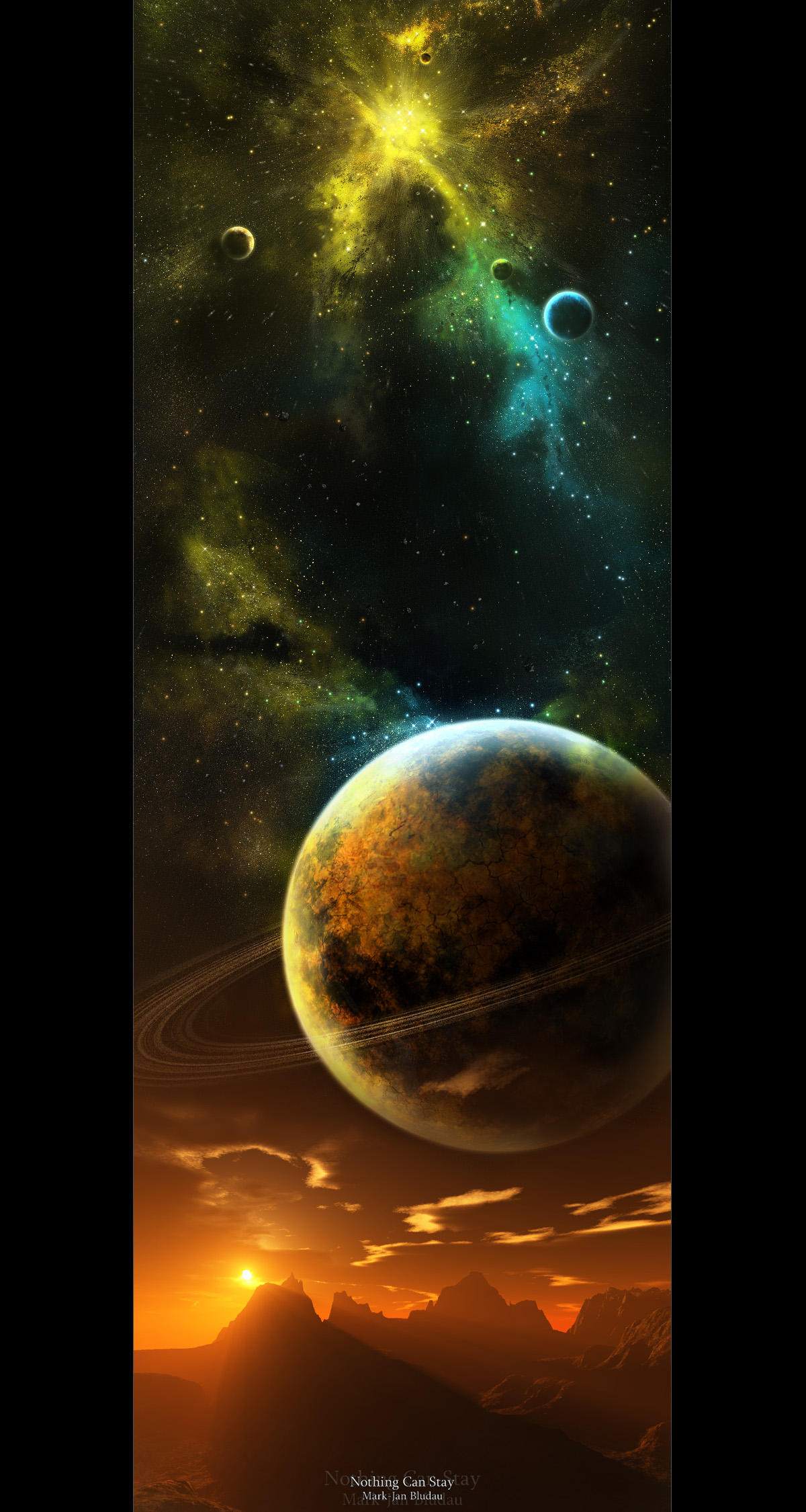Nothing can stay by MJ00