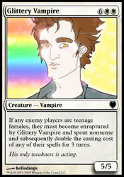 Glittery Vampire