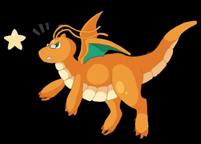 Dragonite by Orukiam