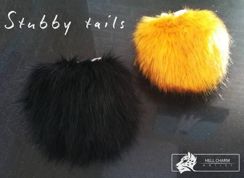 Stubby fursuit tails - FOR SALE