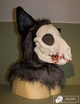 Skull fursuit head - commission