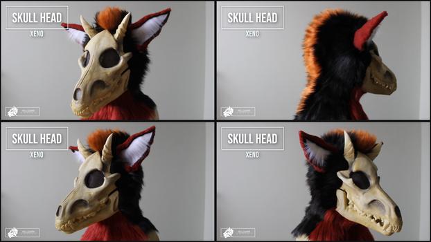 Xeno - skulldog head