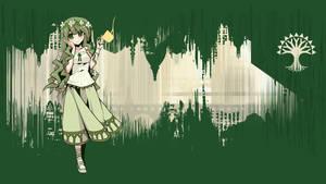 Selesnya Cityscape Mangagirl by klappscheinwerfer