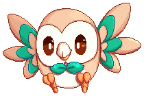Rowlet by Remi-Adopt