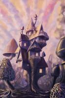 Mushroom house by 9Lion6