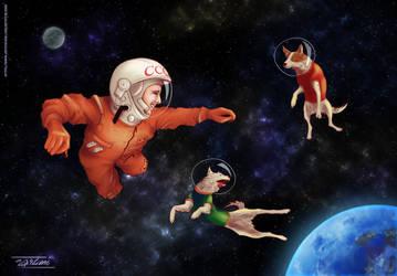 Happy Cosmonautics Day! by 9Lion6