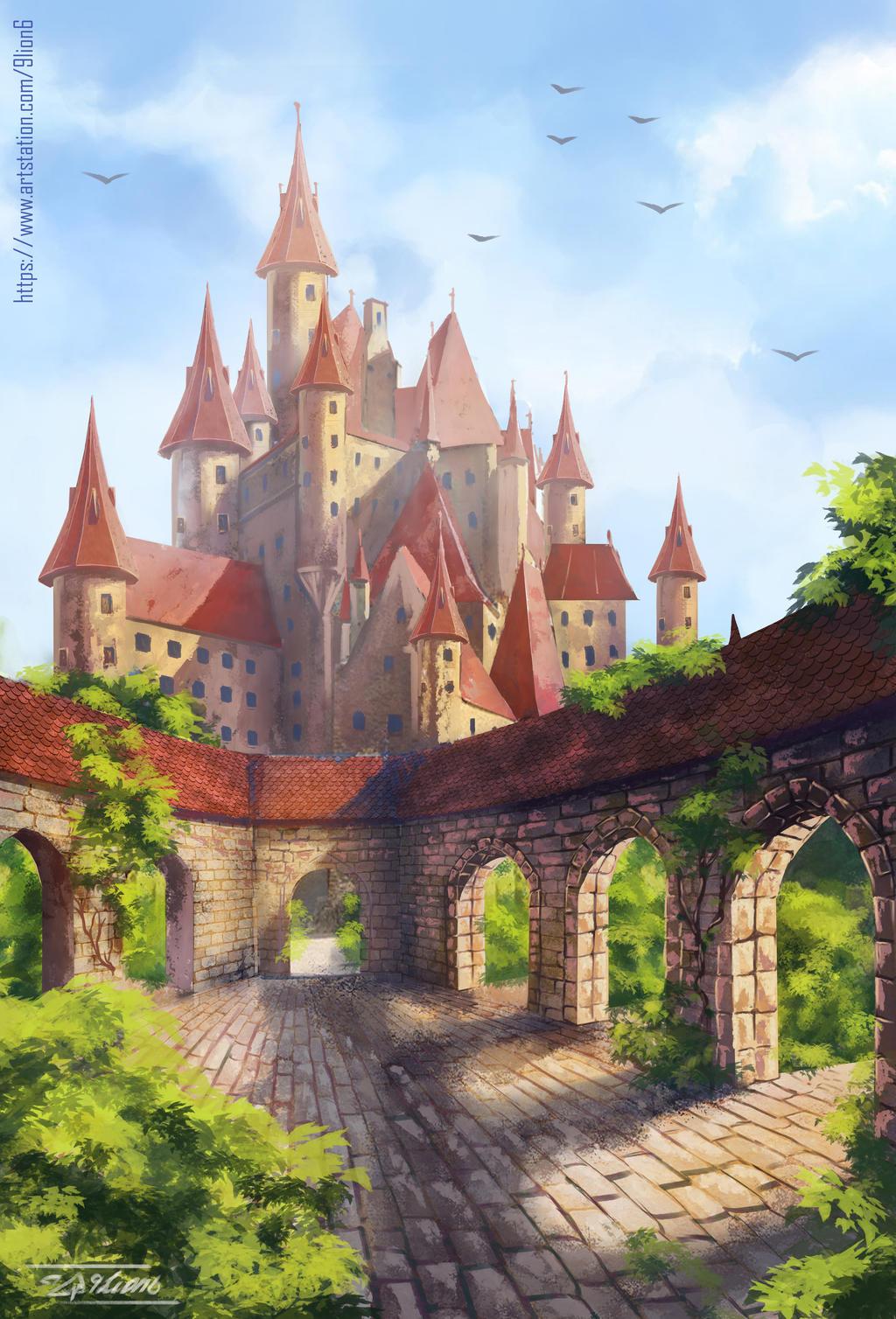 Castle by 9Lion6
