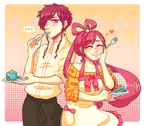 Cake Sibs by OllieVA