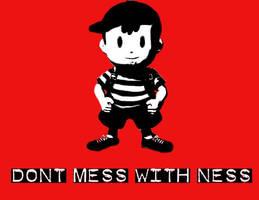 Don't mess with ness by onizuka1432