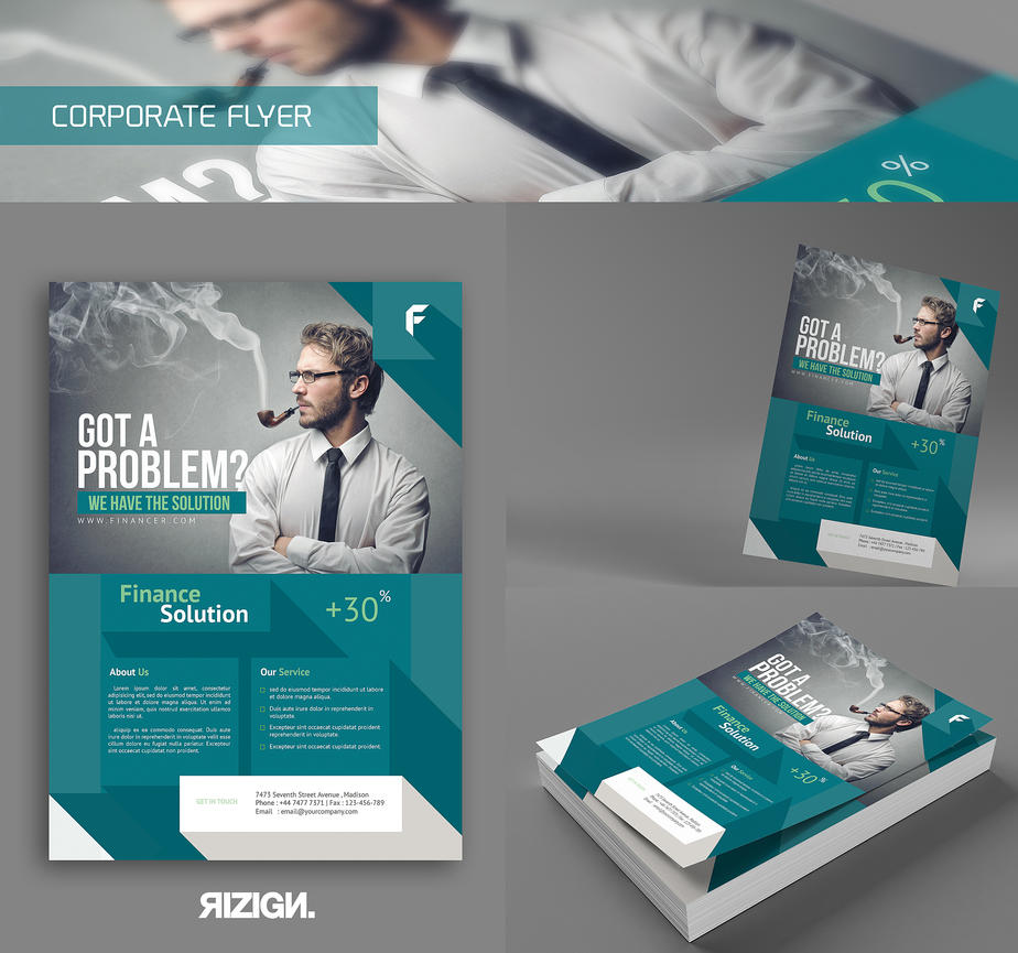 Corporate flyer by rizign on deviantart - Corporate flyer inspiration ...