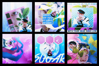 Blue and Pink | Icons by ColdLove98