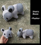 Mouse Plushie