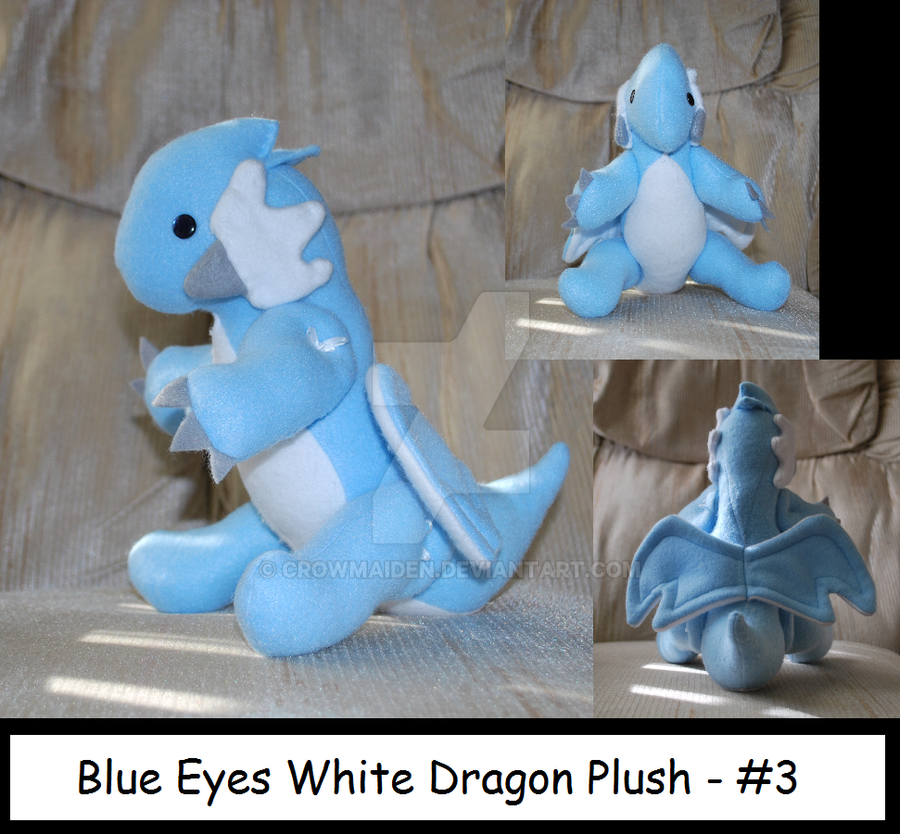 Blue Eyes W Dragon Plush 3 By Crowmaiden On Deviantart