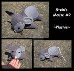 Mouse Plushie 2