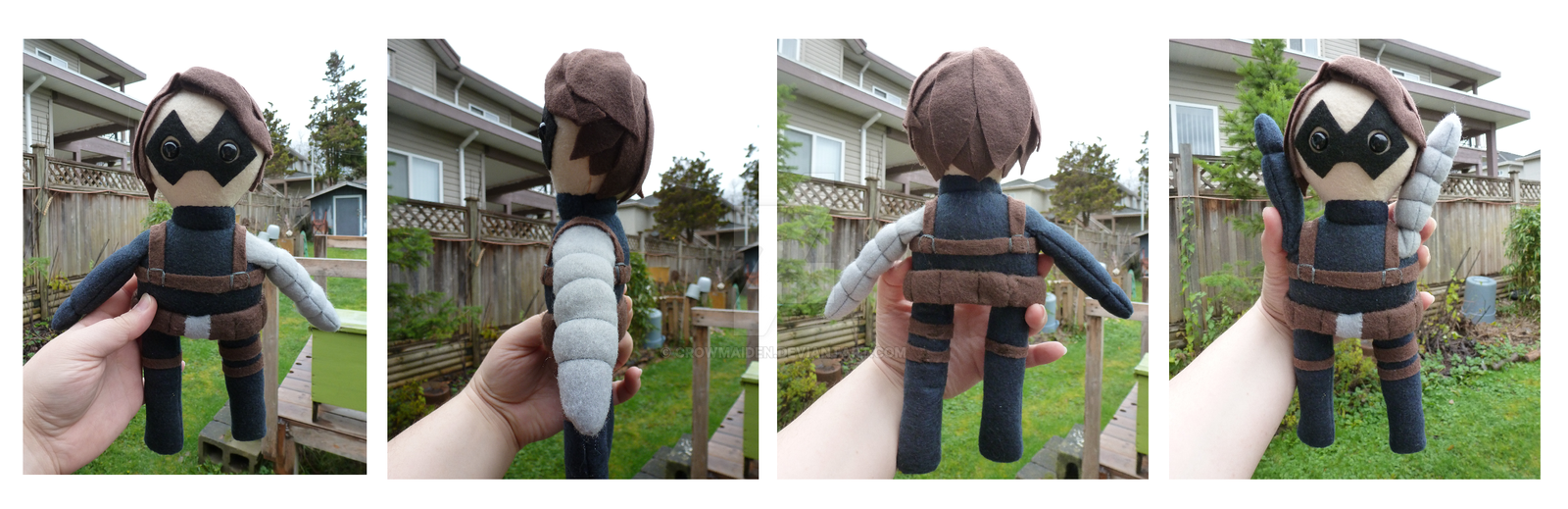 Winter Soldier - Plush by CrowMaiden