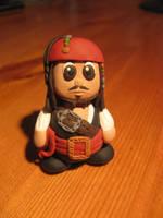 Fimo Jack Sparrow by AwesomeNickname