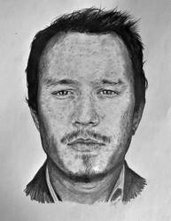 Heath Ledger by AwesomeNickname