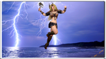 Lady Quantum: Hammer of the Gods by Lady-Quantum