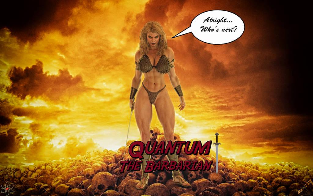 Quantum The Barbarian by Lady-Quantum