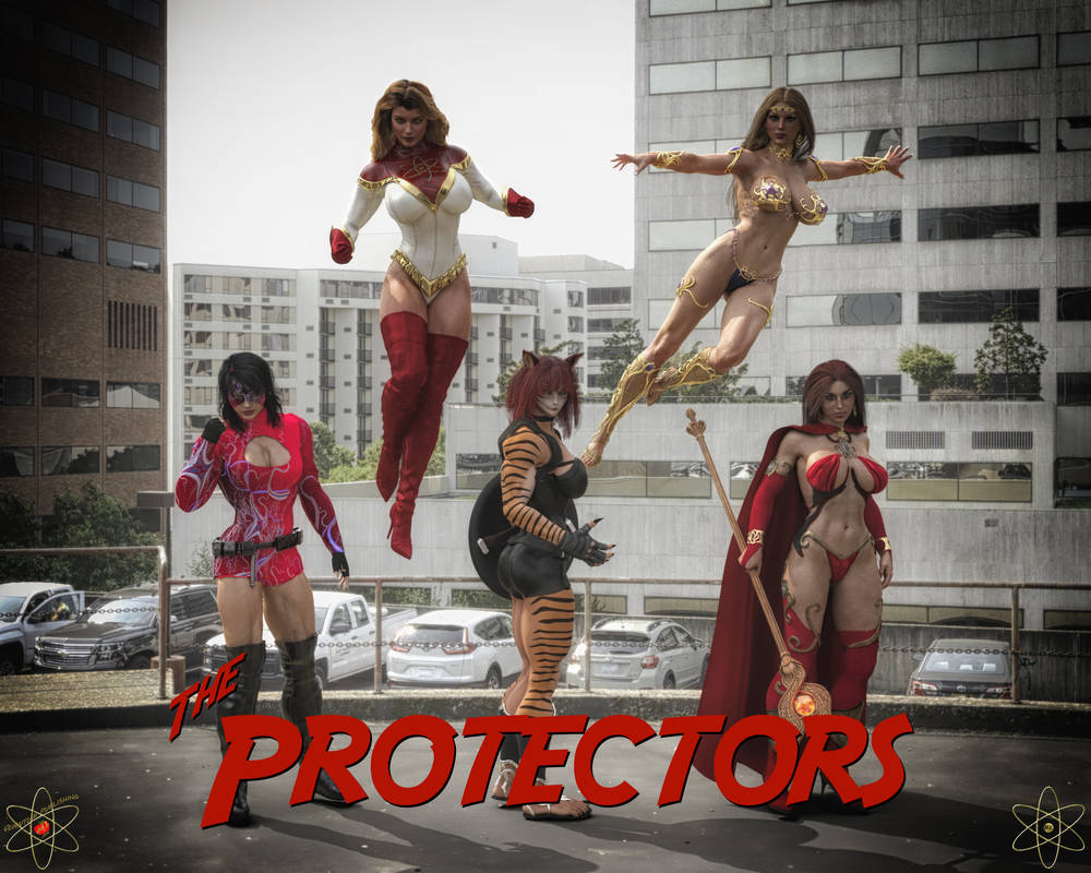The Protectors by Lady-Quantum