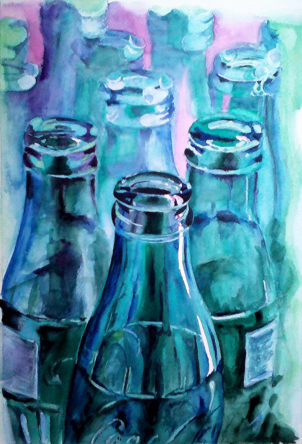 Bottles of Coke by DEstebanez
