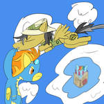 Daring Do and the Wonderbolts