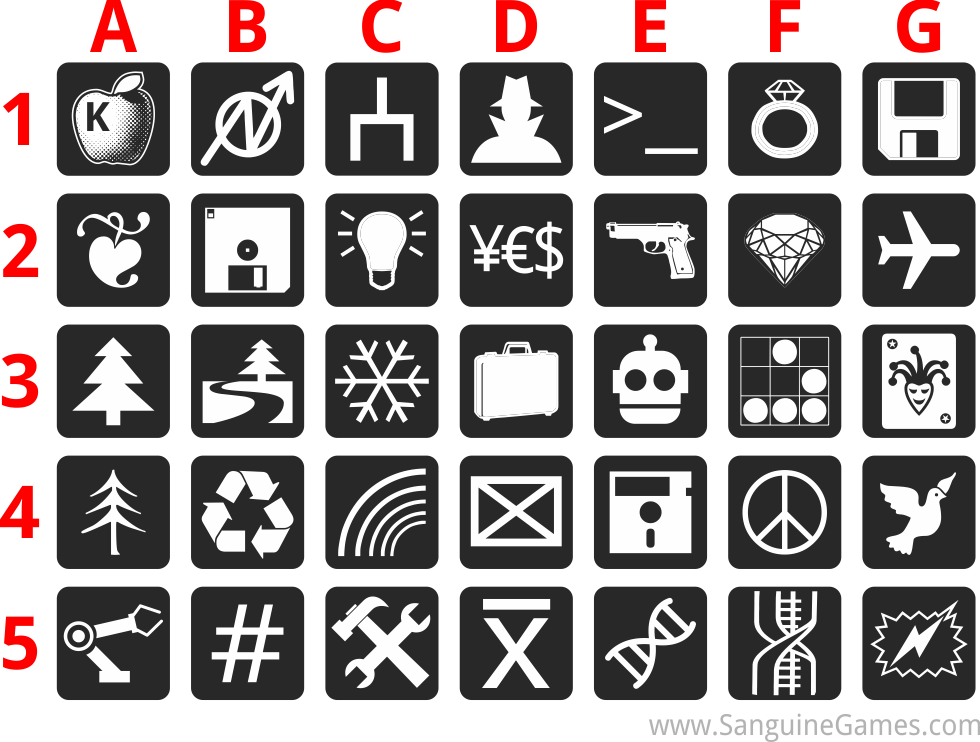 Bleeding Edge Icon Designs by Rafferty