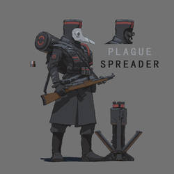 Plague Spreader ( Pixel style ) by lhlclllx97