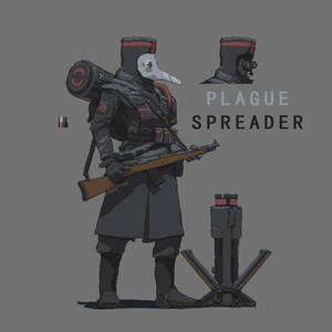 Plague Spreader ( Pixel style )