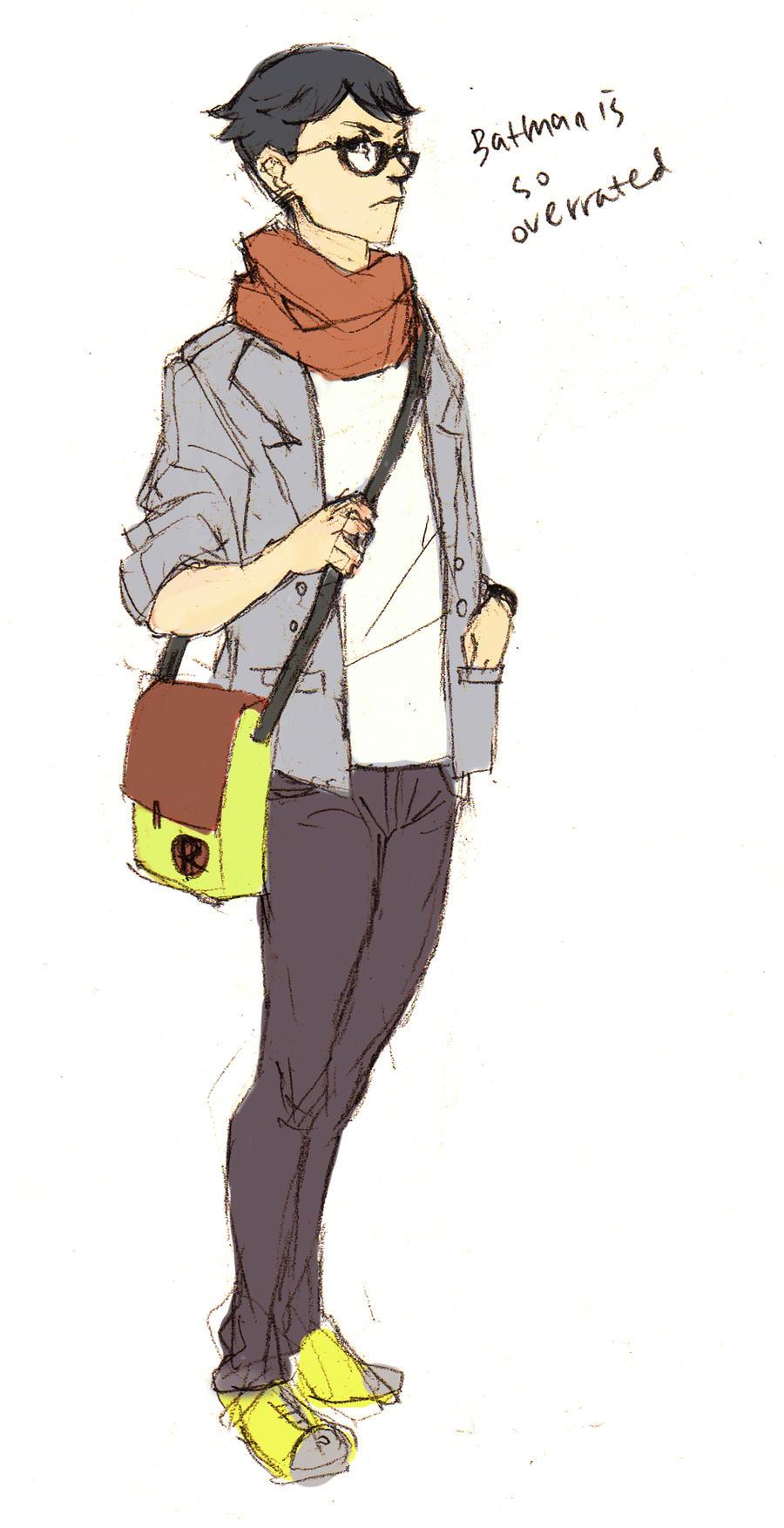 Hipster Robin By Kimchi1uva