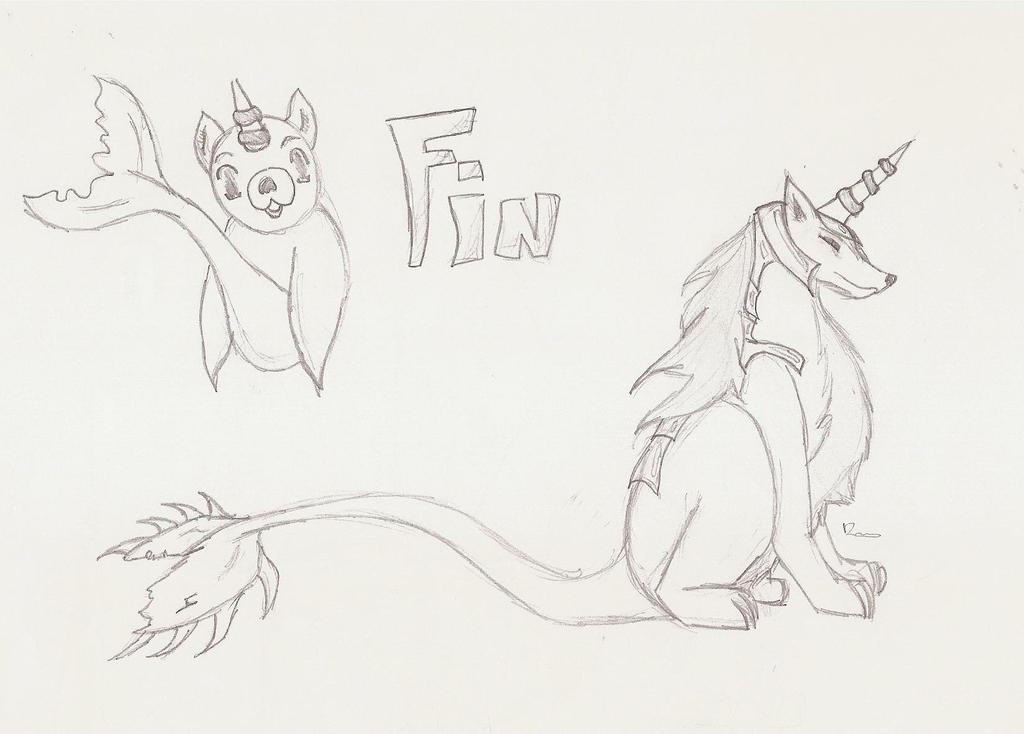 Fin by dragonneGlacia