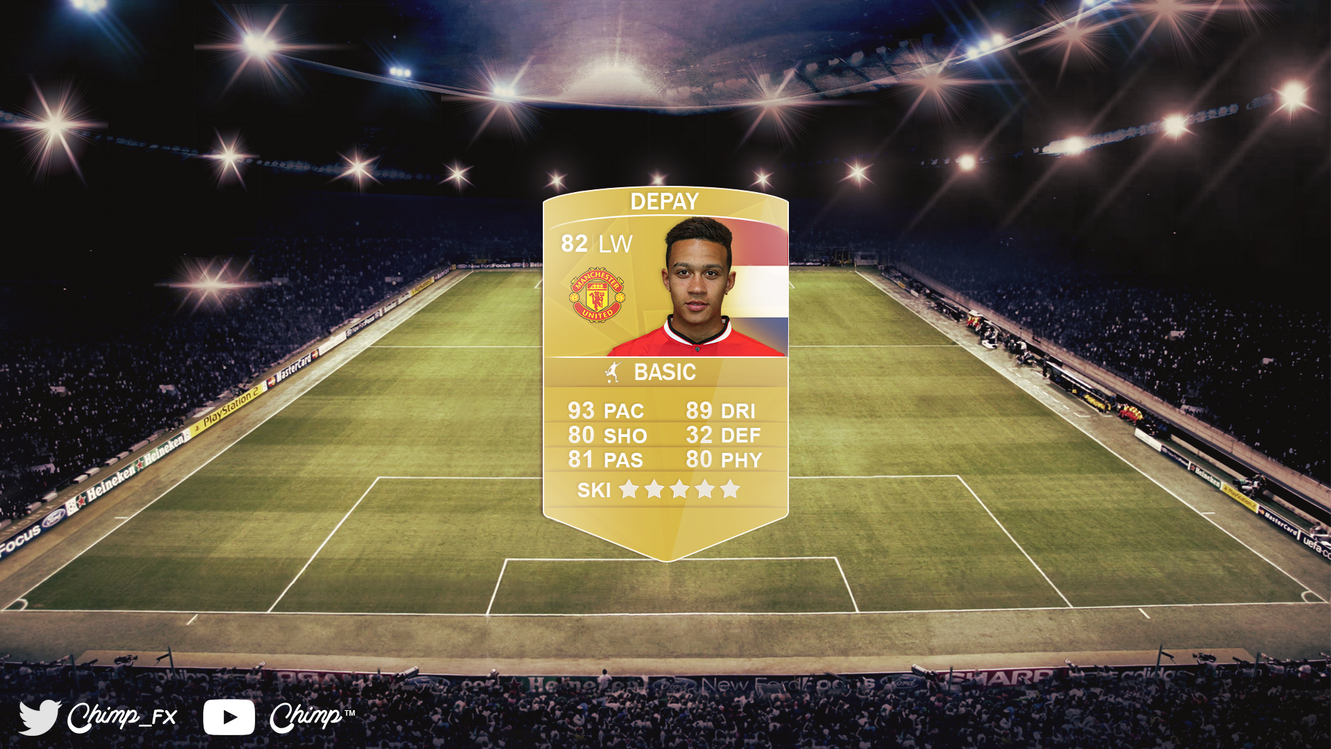 FIFA 16 FUT Concept Card By ChimpYoutube