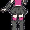 Pink Neko Punk by kuromigrl