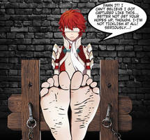 Hinoka's Feet Trapped by ref462