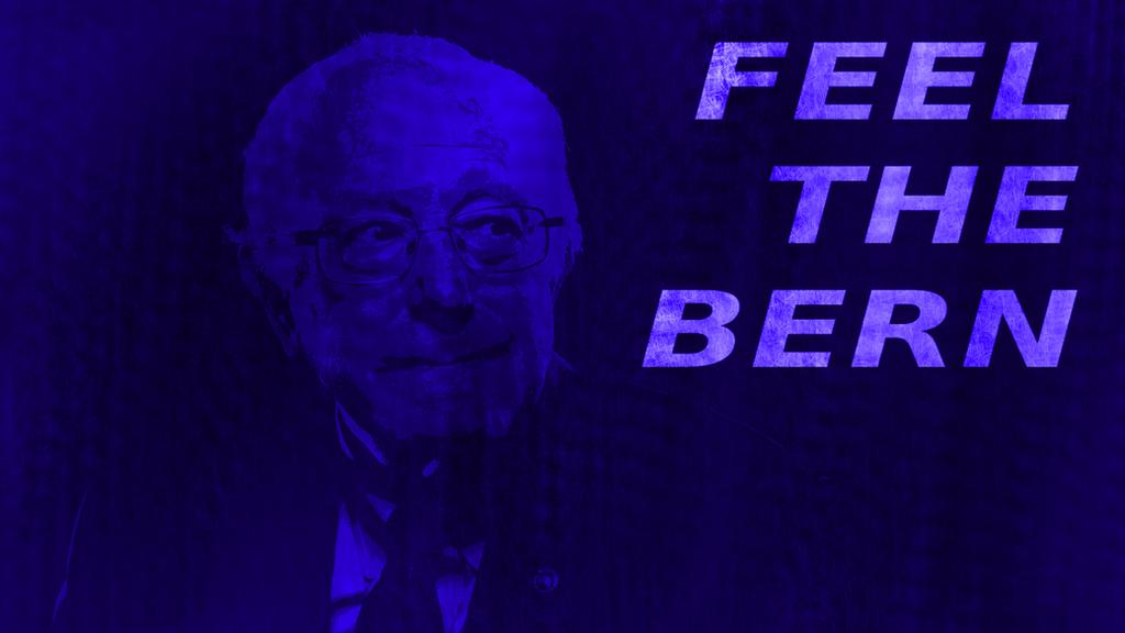 'Feel The Bern' Wallpaper By NerdofRage