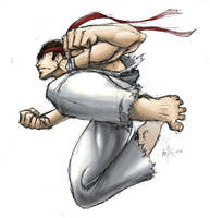 Ryu- by MatchLight