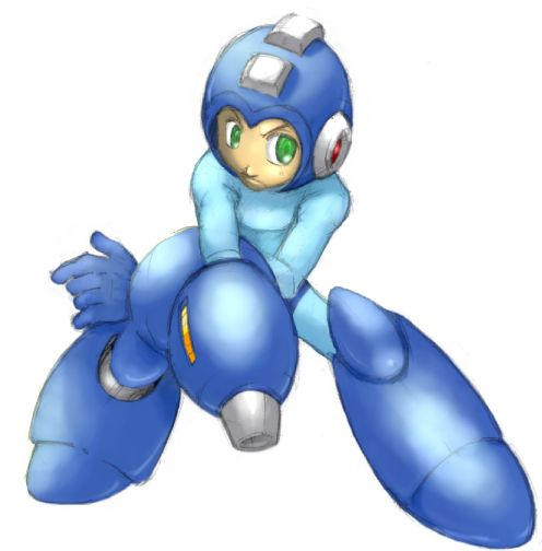 Megaman color by MatchLight